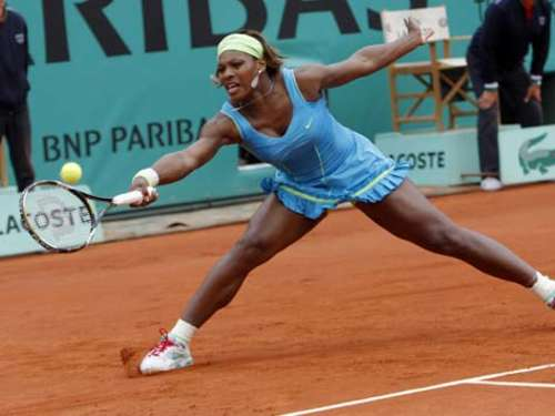 Serena Williams im Achtelfinale der French Open