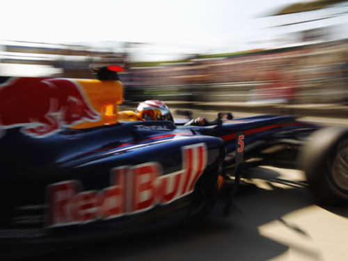 Red Bull dominiert Ungarn-Training