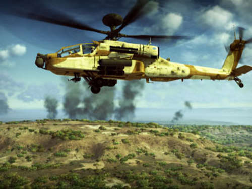 Screenshots aus Apache Air Assault