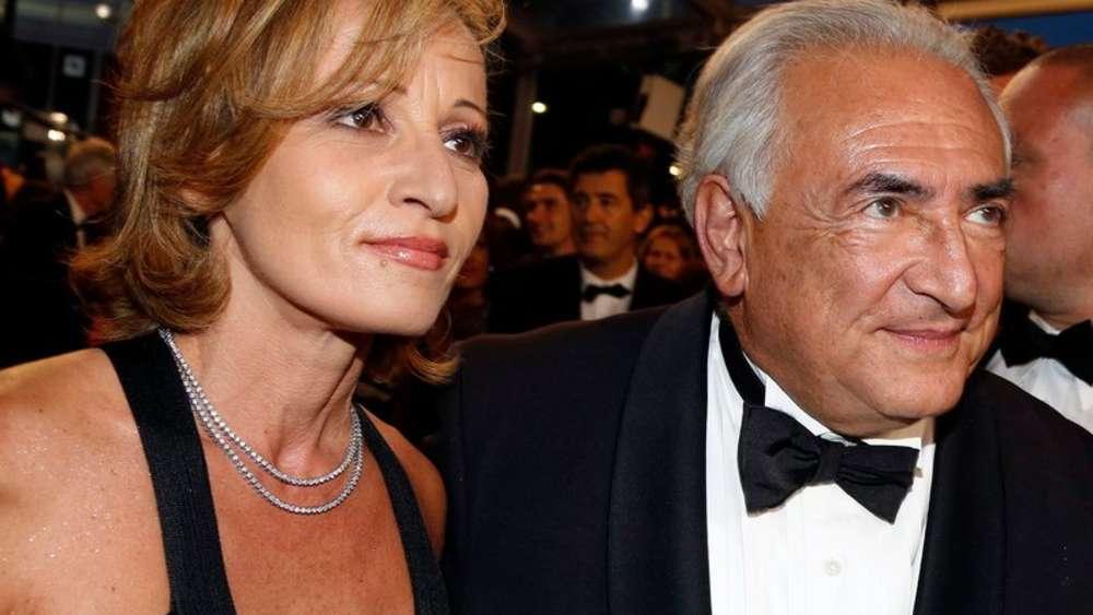 Strauss-Kahn präsentiert neue Freundin   WELT