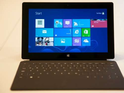 Microsoft: Neues Surface-Tablet erwartet