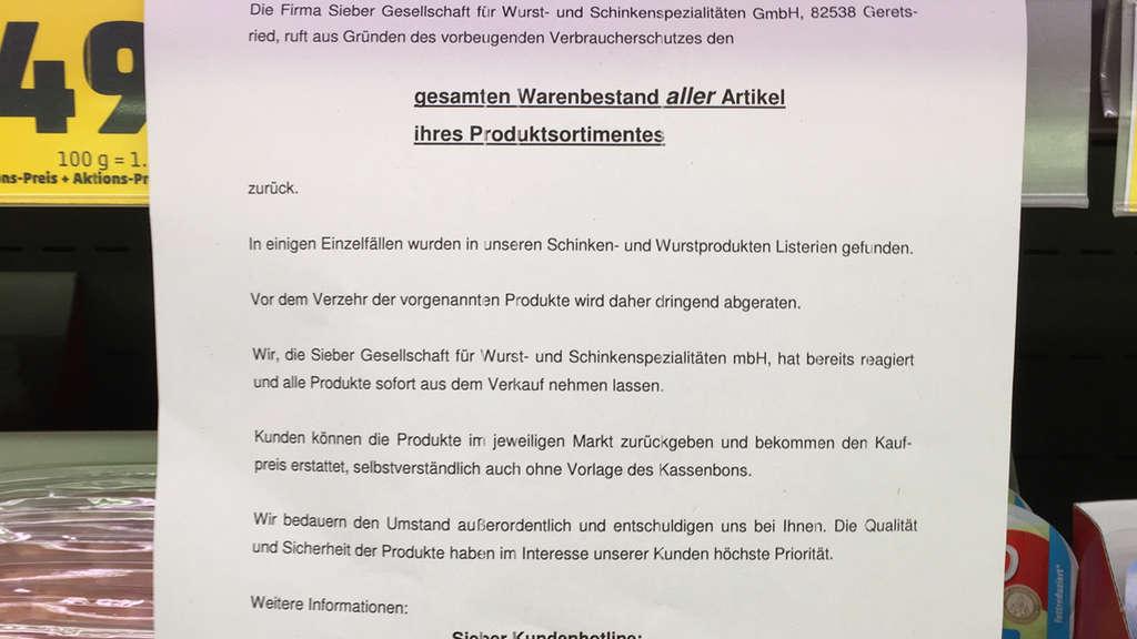 Geschäftsführer der Firma Sieber meldet Insolvenz an / 120 ...