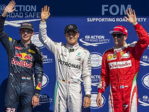 Rosberg holt sich Pole Position in Spa