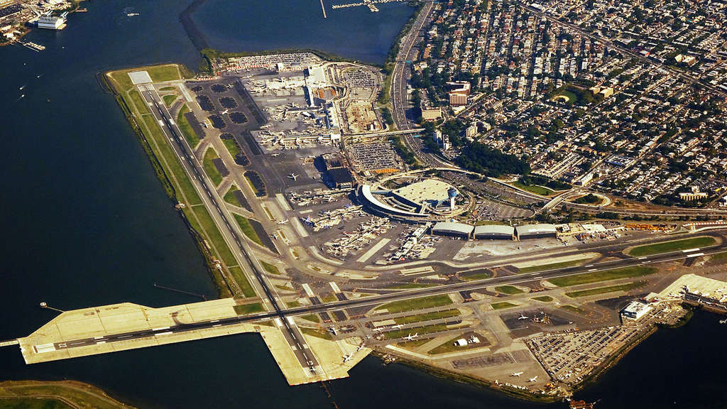 Der Flughafen LaGuardia in New York City.