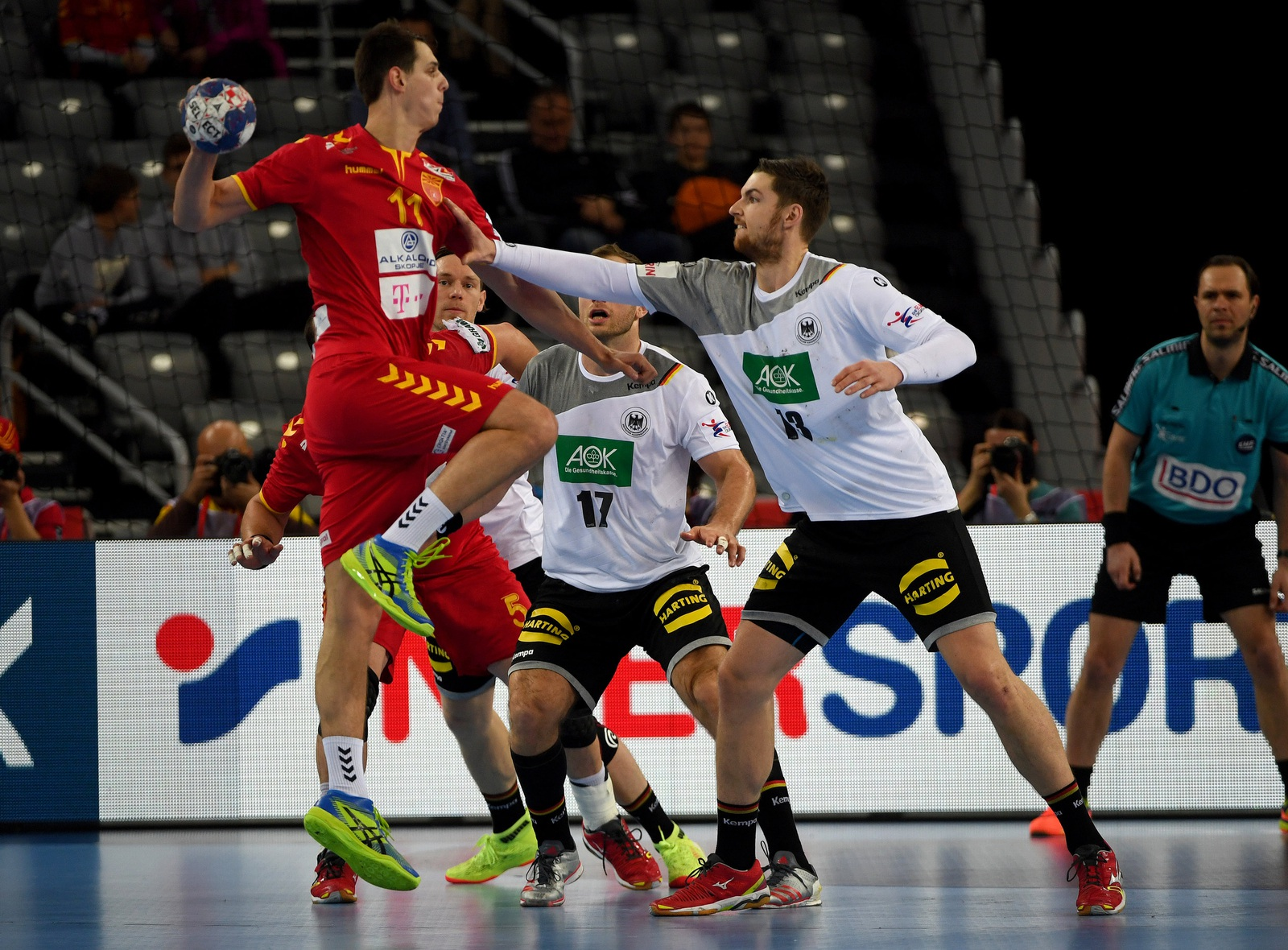 deutschland mazedonien handball