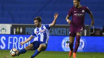 """Will Grigg's on fire"" - Wigan schmeißt Manchester City aus dem FA-Cup"