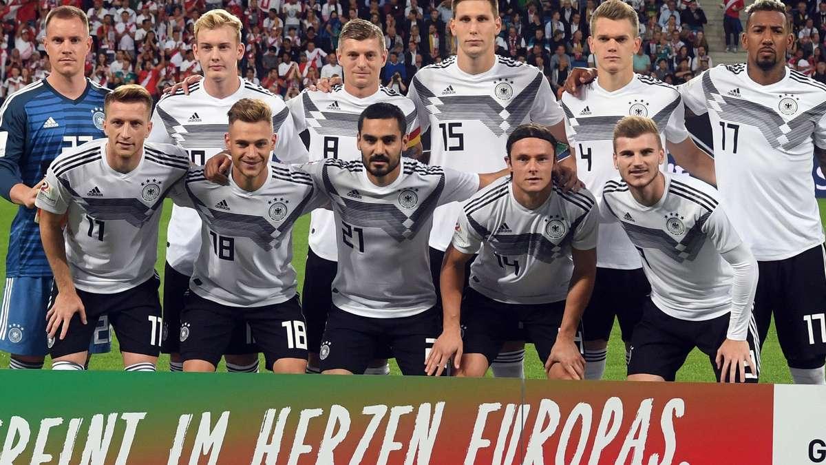 Deutschland Peru Fußball