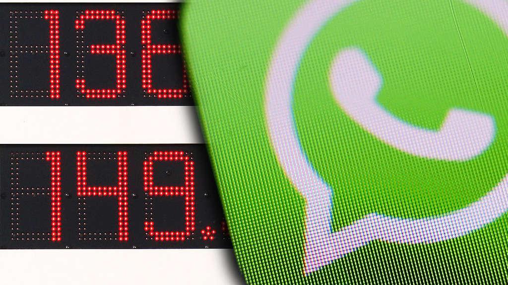 Schock Nachricht Whatsapp