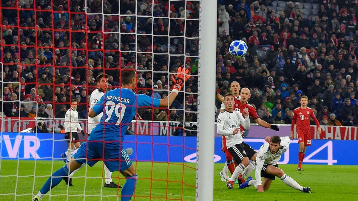 Bayern München Vs Benfica Lissabon