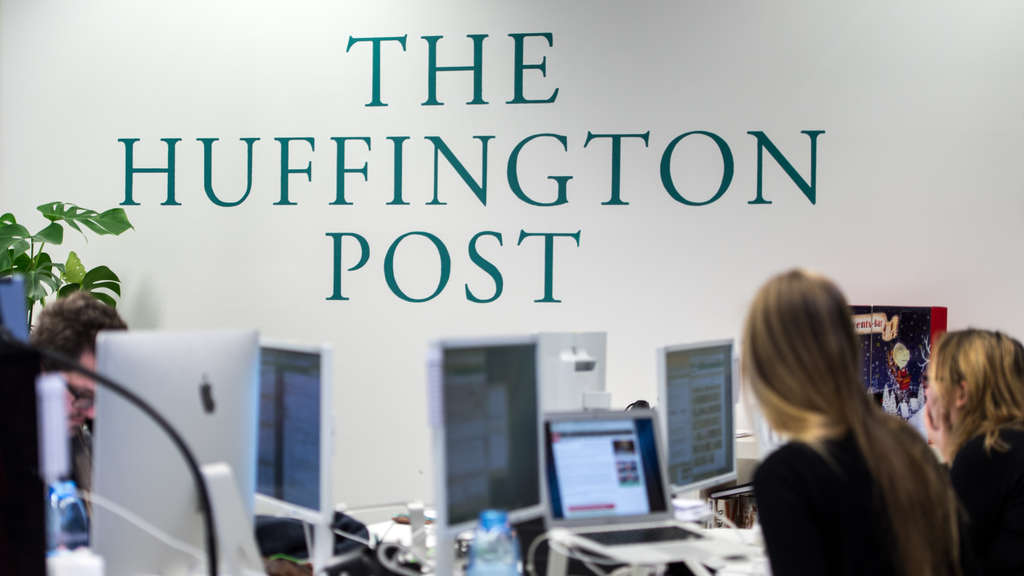 Die Huffpost war Anfangs als The Huffington Post gestartet
