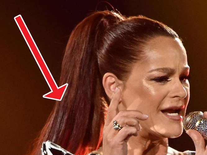 "Andrea Berg zeigt sich in Wow-Outfit samt Hui-Ausschnitt - ""Bombe"""