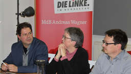 Politiker der Linken stellen alternative Konzepte zur Diskussion