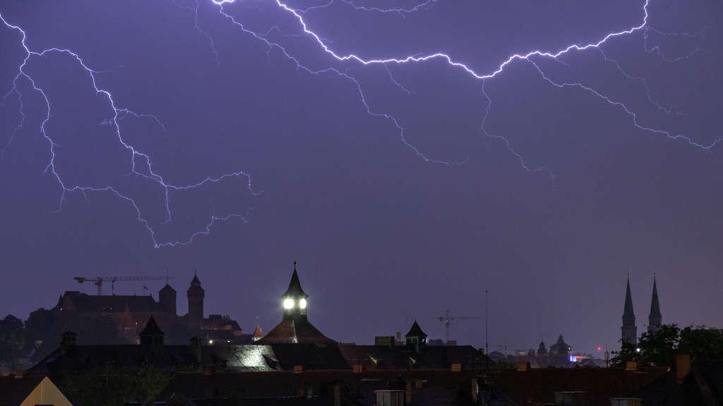 Blitzeinschläge Bayern
