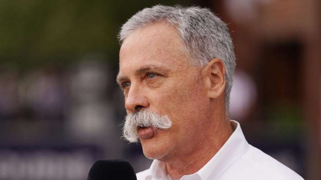 Formel-1-Chef Chase Carey. Foto: Michael Dodge/AAP/dpa